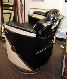 Koken President Barber Chair & Antique hydraulic koken barber chair | Instappraisal | BARBER CHAIRS ...