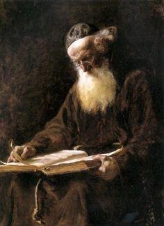 Elizabeth Nourse (1860 – 1938) Cappuchin Monk