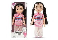 """Disney Princess Toddler Doll, 16"""" - Mulan"""