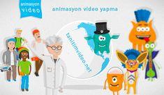 Animasyon yapmak ve hazırlamak için adresi ziyaret edin. Animasyon yapma programları ile uğraşmayın.