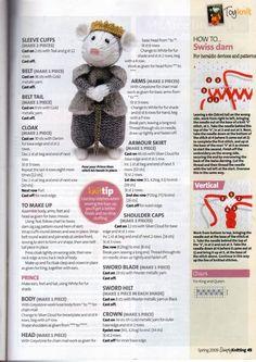 Tails of Yore - Alan Dart Animal Knitting Patterns, Crochet Dolls Free Patterns, Stuffed Animal Patterns, Doll Patterns, Simply Knitting, Free Knitting, Knitting Toys, Crochet Bunny, Crochet Toys