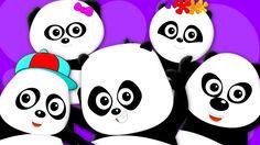 Five Little Pandas | Panda Song | Nursery Rhymes | Kids Songs | Baby Rhymes #pandas #FiveLittlepandas  #babysongs #kidsrhymes #preschoolers #toddlers