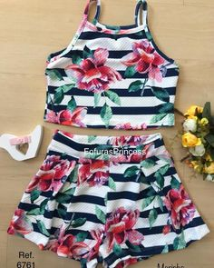 Cute Outfits For Kids, Toddler Girl Outfits, Summer Outfits, Baby Girl Fashion, Kids Fashion, Cut Clothes, Teenager Outfits, Jumpsuit Dress, Bikini Swimwear