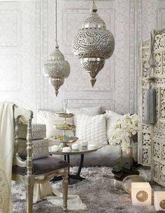 Arabic style. Lo stile arabo puo' essere chic se fatto monocolore o con toni chiari