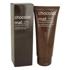 Chocolat Mat Body  Lotion By Masaki Matsushima. Chocolat Mat Perfume by Masaki Matsushima, Mysterious and comforting at the same time, chocolate treads a fine line between exclusive luxury and the comforts of home. Chocolat mat is a women's fragrance from masaki matsushima that embodies chocolate's dance between playful and intriguing. Introduced in 2005, this gourmand scent features lush cacao and dark chocolate as its sumptuous heart notes.