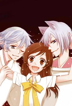 Kamisama Hajimemashita :: Nanami, Tomoe, and Mizuki