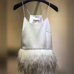 Премиум страусиных перьев фэнтези перья декоративные штрафа с бахромой подол жилет ремешок черный и белый 2