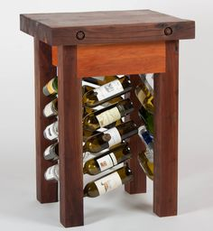 Wine Rack Butcher's Block Island