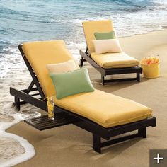 sale chaise cushions for just $40