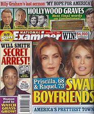 Priscilla Presley Raquel Welch  Dean Martin Frank Sinatra 2013 National Examiner