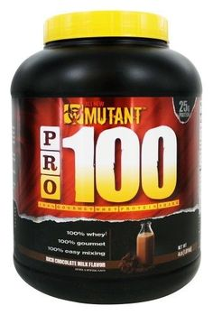 Mutant - PRO 100 Gourmet Whey Protein Shake Rich Chocolate (Brown) Milk - 4 lbs.