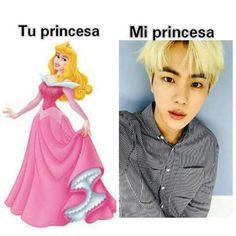 Mi princesa JIN <3