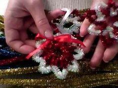 Снежинка - Новогодняя поделка с детьми - YouTube