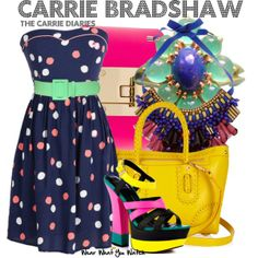 Inspired by AnnaSophia Robb as Carrie Bradshaw on The Carrie Diaries. Want the dress definitely Kim!!