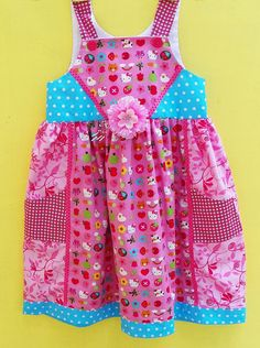 Hello Kitty Dress from Wild Olive Kids