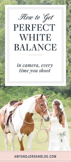 How to get perfect white balance in camera every time you shoot!