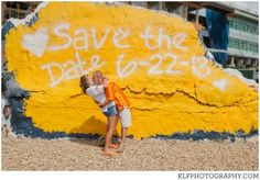 Knoxville Photography, UT stadium engagement photography, University of Tennessee, Knoxville Engagement Session, The Rock, save the date