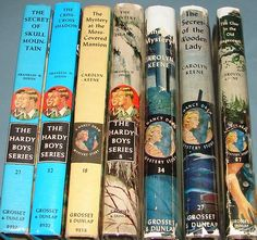 Hardy Boys & Nancy Drew.