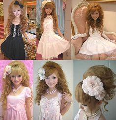 Tokyo princess style, Jesus Diamante hime-kei fashion. Liz Lisa, Princesses fashion in Japan.