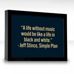 Jeff Stinco, Simple Plan Song Quotes, Music Quotes, Cool Words, Wise Words, Picture Song, Wonder Quotes, Emo Bands, Music Stuff, Talk To Me