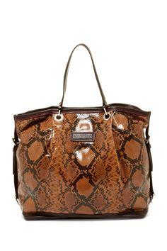 a54a5f69d8da Versace Signature Python bag.