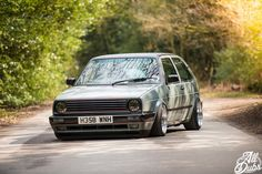 Great MK2 GTI with single round headlights.