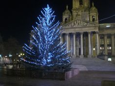 Portsmouth Guildhall Square Christmas tree