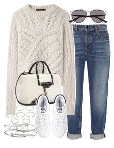 """""""Untitled #3360"""" by hellomissapple on Polyvore featuring Alexander Wang, Isabel Marant, Balenciaga, adidas, Forever 21, Cartier, Michael Kors, Jules Smith and Topshop"""