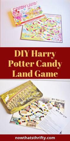 Are you looking for a fun DIY Harry Potter boad game? This Harry Potter game for kids is perfect for every Harry Potter fan! This is the Harry Potter version of Candy Land, and it comes with FREE printables! #harrypotter #harrypotterfan #harrypotterparty #diycrafts #diyproject