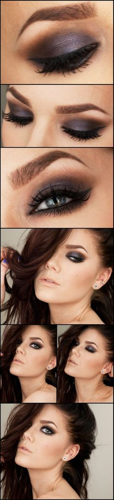 Love her make-up!