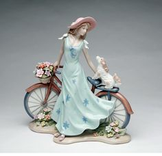 Riding Bike With My Best Friend Figurine