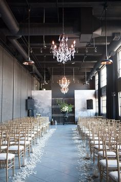 Wedding Ideas: The Industrial-Style Soirée | wedding ceremony