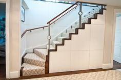 stairs down to the basement