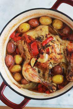 Pot Roast, Paella, Baking, Healthy, Ethnic Recipes, Desserts, Le Creuset, Cook, Onions