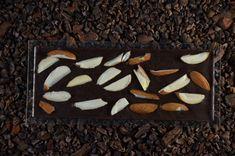 Schokolade mit Mandeln Bourbon Vanille, Kakao, Almond, Chocolate, Live, Almonds, Foods, Chocolates, Almond Joy
