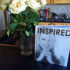 """Love Lorna Jane's new book """"Inspired"""" - great fitness, healthy living, and beauty advice!"""