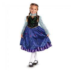 Frozen-Anna Deluxe Girl's Costume