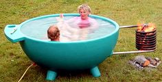 i'm not sure how you have survived without a portable hot tub in the first place! this is awesome.