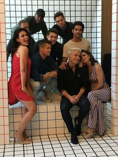 Cast of Teen Wolf at SDCC