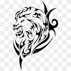 Lion Tattoo Images, Lion Head Tattoos, Tiger Tattoo, Tribal Tattoos