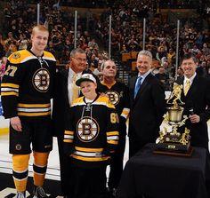 Dougie Hamilton wins the 2013 Seventh Player award Yahhhh dougie! Dont Poke The Bear, Boston Bruins Hockey, Tampa Bay, Nhl, Hamilton, Game, Gaming, Toy, Games