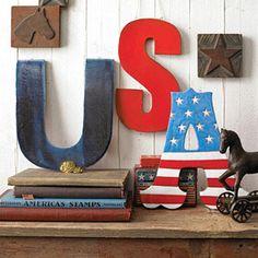 A sweet USA display