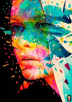 You know that Bottle & Bottega loves color! Check out these colorful portrait illustrations by Pautasso & let your imagination run free. http://canvas.pantone.com/gallery/Various-Illustrations-2013/10068071
