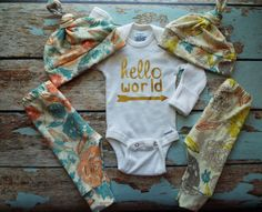 Check out this item in my Etsy shop https://www.etsy.com/listing/453616072/twin-newborn-set-coming-home-outfit