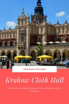 Check out our ultimate guide on top attractions to do and see in Krakow and all the travel tips you need  to plan your Krakow trip.