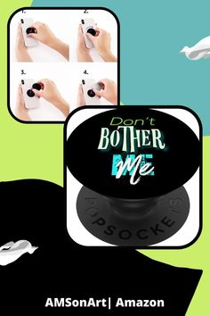 Don't Bother Me Novelty Gift PopSockets Swappable PopGrip £10.99 designed by AMSonArt: Amazon.co.uk: Electronics & PhotoAlso available on .com, .fr, .de, .ed and .it prices vary Thoughtful Gifts For Him, Sarcastic Jokes, Joke Gifts, Novelty Gifts, Facetime, Color Names, Phone Holder, Things To Buy, Whimsical