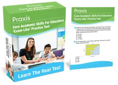 Who else wants to stop stressing-out and crack-the-code of the Praxis Core Academic Skills for Educators exam?