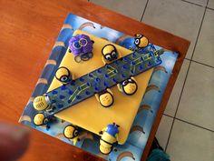 Minion Loom band  Cake :)