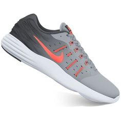 Nike LunarStelos Women's Running Shoes ($60) ❤ liked on Polyvore featuring shoes, athletic shoes, oxford, athletic running shoes, flexible running shoes, oxford shoes, nike shoes and fleece-lined shoes