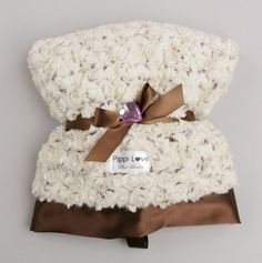 Mocha Swirl Little Blanket....ideal for the stroller or car seat and soft for baby tummy time.
